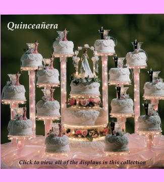 Quinceañera Click to view all of the displays in this collection